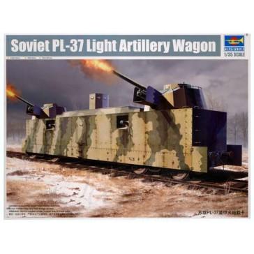 Sov.PL-37 Light Artillery Wagon1/35