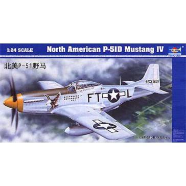 P-51D Mustang 1/24