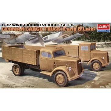 German Cargo Truck 1/72