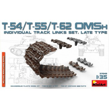 T54/T55/T62 OMS Individ. Track 1/35