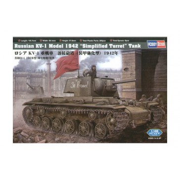 Russian KV-1 1942 Simplified 1/48