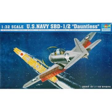 US SBD-1/2 J-6 Daunt.1/32