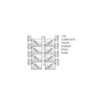 AC EUROPE T80 Composite Track 1/35