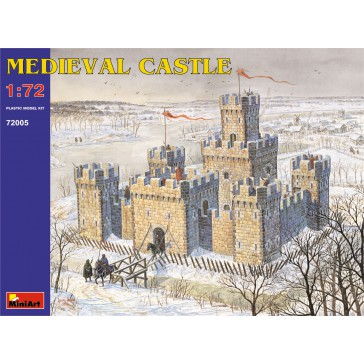 Medieval Castle 1/72