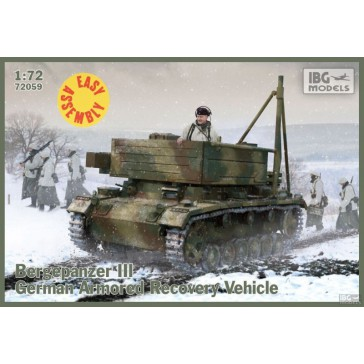 Bergepanzer III (Easy Ass. Kit)1/72