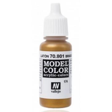 Acrylic paint Model Color (17ml) - Metallic Brass