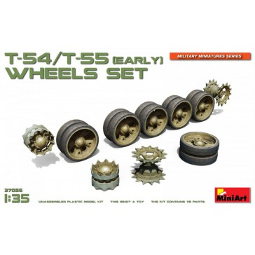 T54-55 Early Wheel Set 1/35