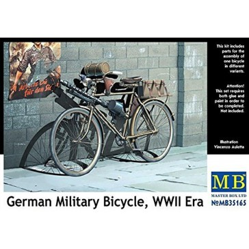 German Military Bicycle WWII 1/35