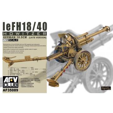 LEFH 18/40 105mm Howitzer 1/35