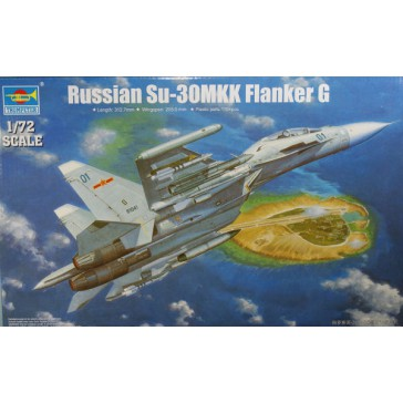 TRussian Su-30MKK Flanker G 1/72