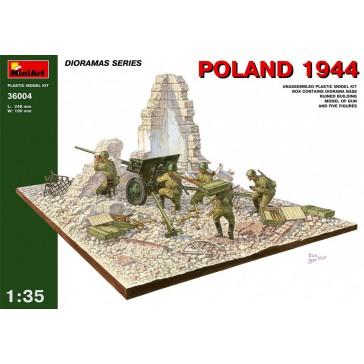 Poland '44 ZIS-2 Gun 1/35