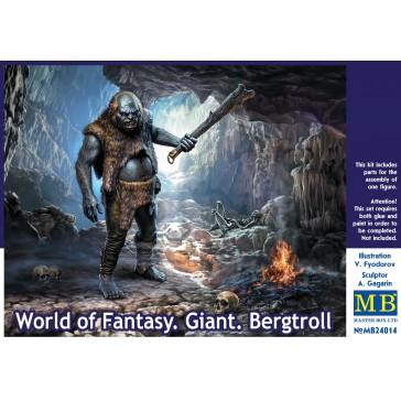 World of Fant.Giant Bergtroll 1/24