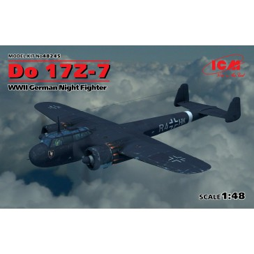 Do 17Z-7. WWII Night Fighter 1/48