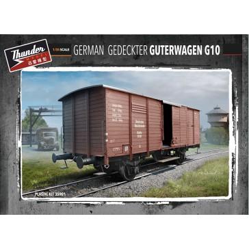 Germ.Gedeckter Guterwagen G10  1/35