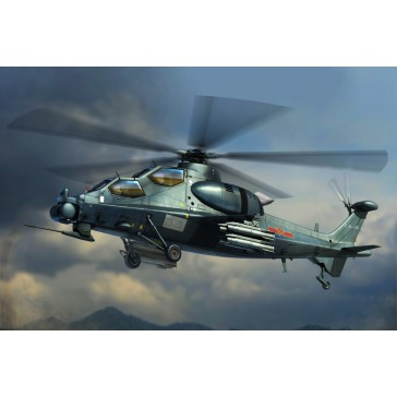 Chinese Z10 Attack Helicopter 1/72