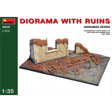 Diorama with Ruins 1/35