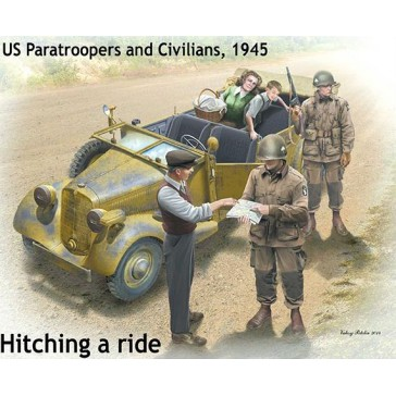 Hitch on the Road US Para&Civ. 1/35