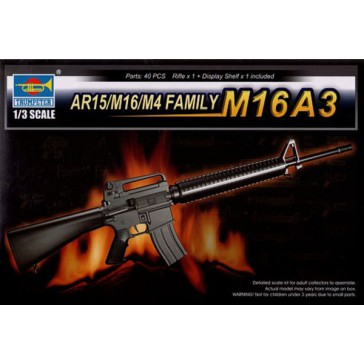 Trumpeter AR15-M16-M4 Family M16A3 1/3 - MCM Group