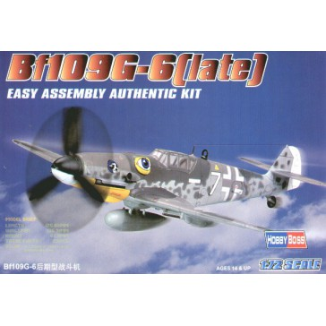 Bf109 G-6 (late) 1/72