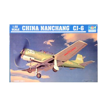 China Nanchang CJ-6 1/32