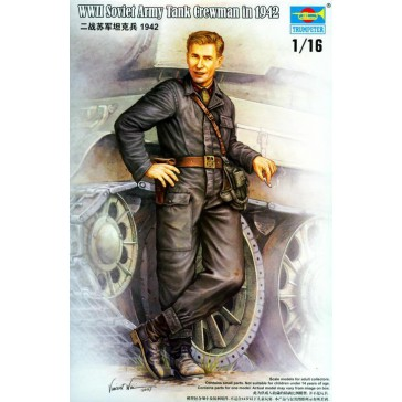 Soviet Tank Crewman 1/16