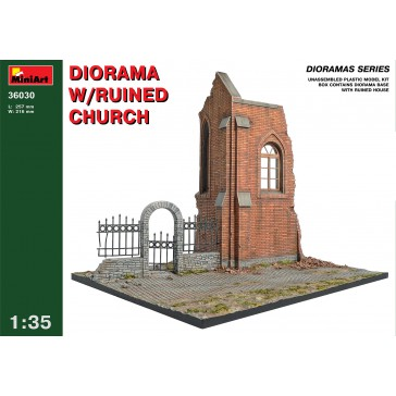 Dio with Ruined Church 1/35