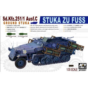 Sd.Kfz.251/1 C StukaZuFuss 1/35