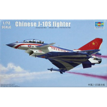 Chinese J-10S Fighter1/72