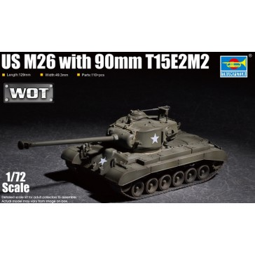 US M26 with 90mm T15E2M2 1/72