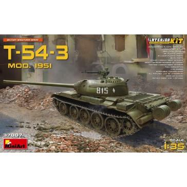 T-54-3 Mod. 1951 Interior Kit 1/35