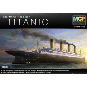 "TITANIC The White Star Liner"" 1/400"