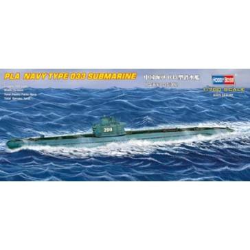 PLA Navy Type 033 Submarine 1/700