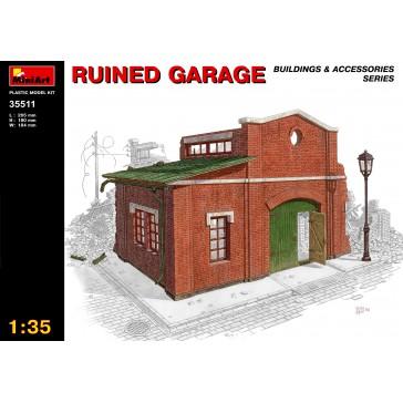 Ruined Garage 1/35