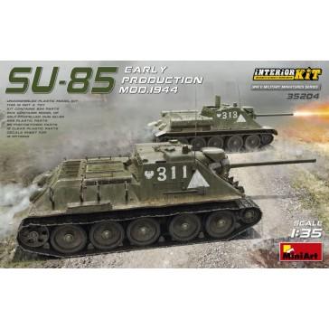 SU-85 Mod.44 Early w/Interior 1/35