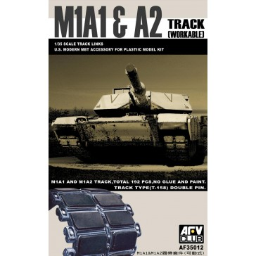 M1A1/2 BIG FOOT Tracks 1/35