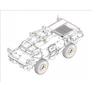 M1117 Guardian Arm. Security 1/72