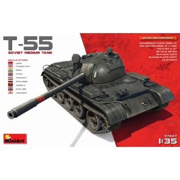 T55 Soviet Medium Tank 1/35