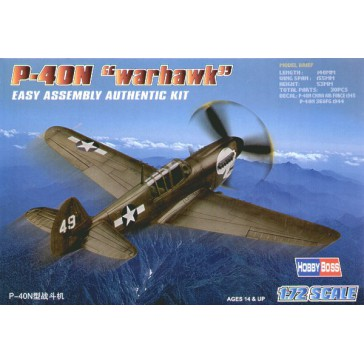"P-40N ""Kitty Hawk"" 1/72"