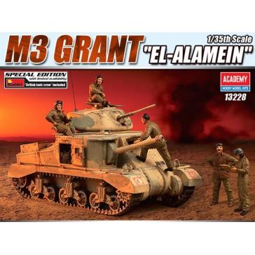 """(13228) M3 GRANT """"EL-Alamein"""" 1/35"""