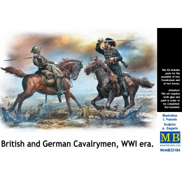 British & German Cavalry WWI 1/35