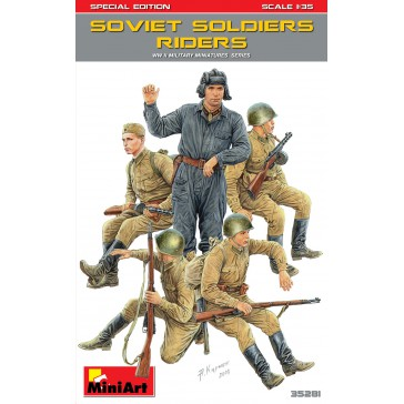 Soviet Soldiers Riders Sp.Edit.1/35