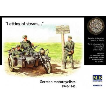 German motorcyclists '40'43 1/35