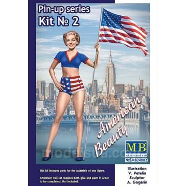 Pin-up Series Kit n°2 Betty 1/24