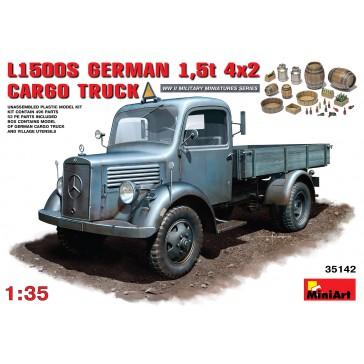 L500S. German 1.5t 4x2 Cargo Tr1/35