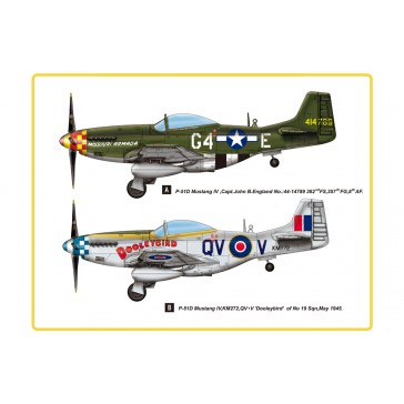 P-51D Mustang IV Fighter 1/48