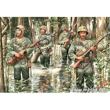 US Marines in Jungle WW II 1/35