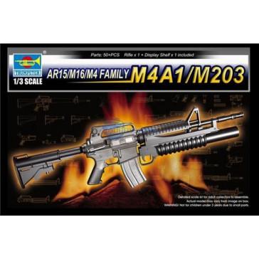 AR15/M16/M4 Family M4A1/M203 1/3