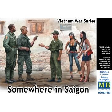 Somewhere in Saigon, Viet. War 1/35