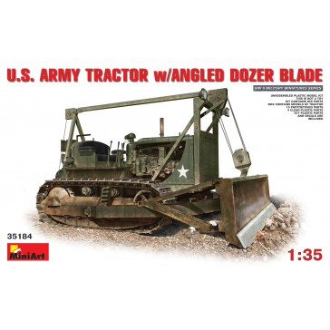 US Army Tractor with Angle Doz.1/35