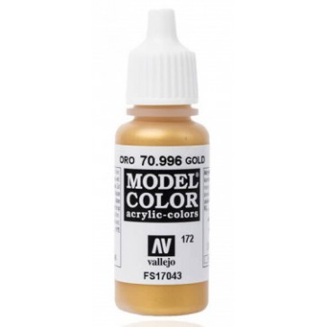 Peinture Acrylique Model Color (17ml) - Metallic Gold